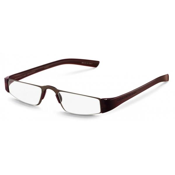 Porsche Design - P´8801 Reading Glasses - Sand Brown - Porsche Design Eyewear