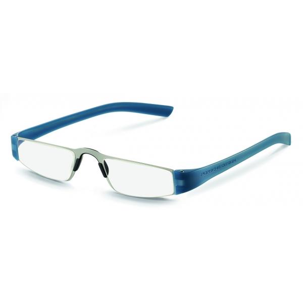 Porsche Design - Occhiali da Lettura P´8801 - Argento Blu - Porsche Design Eyewear
