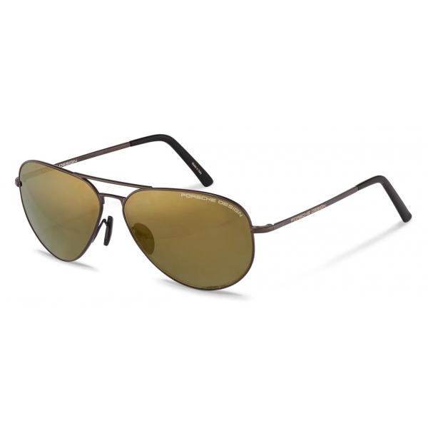 Porsche Design - Occhiali da Sole P´8508 - Marrone Scuro Oro - Porsche Design Eyewear