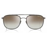 Tom Ford - Jake Sunglasses - Occhiali da Sole Quadrati - Rutenio Scuro - FT0827 - Occhiali da Sole - Tom Ford Eyewear