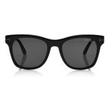 Tom Ford - Brooklyn Sunglasses - Square Sunglasses - Black - FT0833-N - Sunglasses - Tom Ford Eyewear