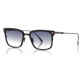 Tom Ford - Hayden Sunglasses - Square Sunglasses - Black - FT0831 - Sunglasses - Tom Ford Eyewear