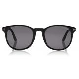 Tom Ford - Ansel Sunglasses - Round Sunglasses - Black - FT0858-N - Sunglasses - Tom Ford Eyewear
