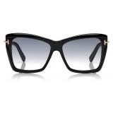 Tom Ford - Leah Sunglasses - Square Sunglasses - Black - FT0849 - Sunglasses - Tom Ford Eyewear