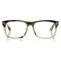 Tom Ford - Square Horn Optical - Square Optical Glasses - Green Horn - FT5719-P - Optical Glasses - Tom Ford Eyewear