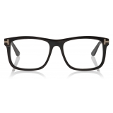 Tom Ford - Square Horn Optical - Square Optical Glasses - BlackHorn - FT5719-P - Optical Glasses - Tom Ford Eyewear