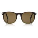 Tom Ford - Ansel Sunglasses - Round Sunglasses - Havana - FT0858 - Sunglasses - Tom Ford Eyewear