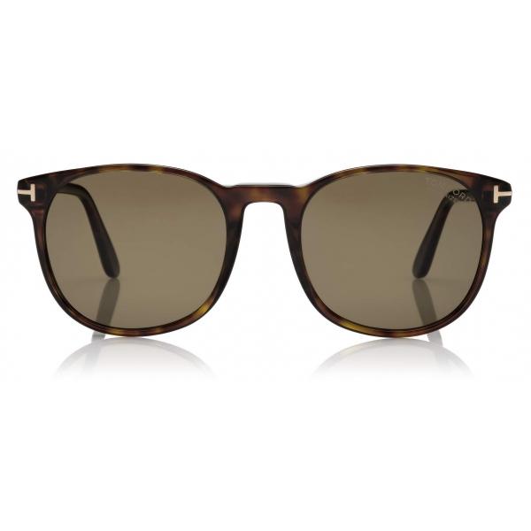 Tom Ford - Ansel Sunglasses - Round Sunglasses - Dark Havana - FT0858 - Sunglasses - Tom Ford Eyewear
