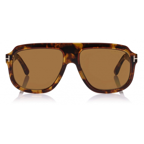 Tom Ford - Ronan Sunglasses - Navigator Sunglasses - Vintage Havana - FT0743 - Sunglasses - Tom Ford Eyewear