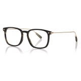 Tom Ford - Key Bridge Round Horn Optical - Light Horn - FT5722-P - Optical Glasses - Tom Ford Eyewear