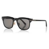 Tom Ford - Key Bridge Round Horn Optical - Black - FT5722-P - Optical Glasses - Tom Ford Eyewear
