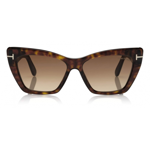 Tom Ford - Wyatt Sunglasses - Square Sunglasses - Dark Havana - FT0871 - Sunglasses - Tom Ford Eyewear