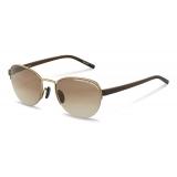 Porsche Design - P´8677 Sunglasses - Gold Brown - Porsche Design Eyewear