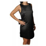 Elisabetta Franchi - Mini A-line Dress - Black - Dress - Made in Italy - Luxury Exclusive Collection