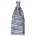 Viola Milano - Artisan Chain Selftipped Italian Silk Tie - Green - Made in Italy - Luxury Exclusive Collection