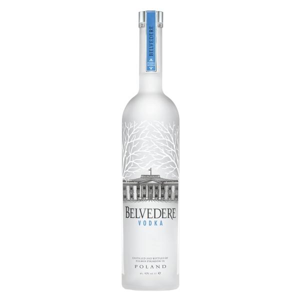 Belvedere - Vodka Pure - Mathusalem - Illuminator - Wooden Box - Superpremium Vodka - Luxury Limited Edition - 6 l