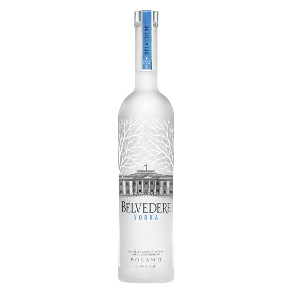 Belvedere - Vodka Pure - Jéroboam - Illuminator - Wooden Box - Superpremium Vodka - Luxury Limited Edition - 3 l