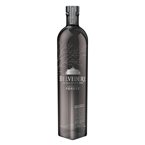 Belvedere - Vodka Single Estate Rye Smogóry Forest - Superpremium Vodka - Luxury Limited Edition - 750 ml