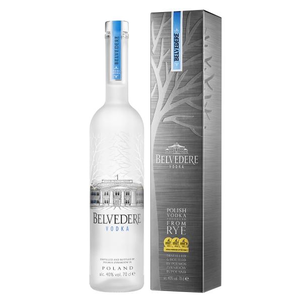 Belvedere - Vodka Pure - Gift Box - Superpremium Vodka - Luxury Limited Edition - 750 ml