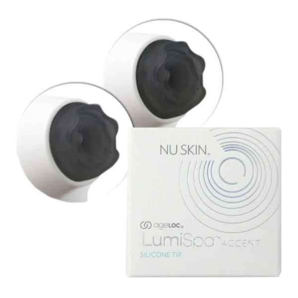 Nu Skin - Replacement Grey Silicone Tips for Brightening Eye Attachment - Body Spa - Beauty - Professional Spa Equipment