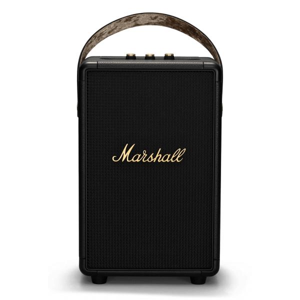Marshall - Tufton - Black and Brass - Portable Bluetooth Speaker - Iconic Classic Premium High Quality Speaker