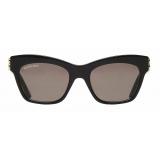 Balenciaga - Dynasty Butterfly Sunglasses - Black - Sunglasses - Balenciaga Eyewear