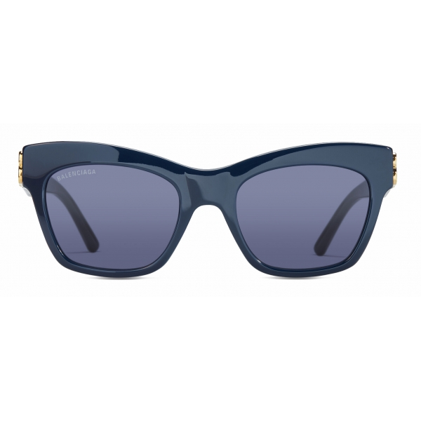 Balenciaga - Dynasty Square Sunglasses - Blue - Sunglasses - Balenciaga Eyewear