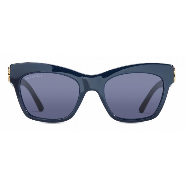 Balenciaga - Occhiali da Sole Dynasty Square - Blu - Occhiali da Sole - Balenciaga Eyewear