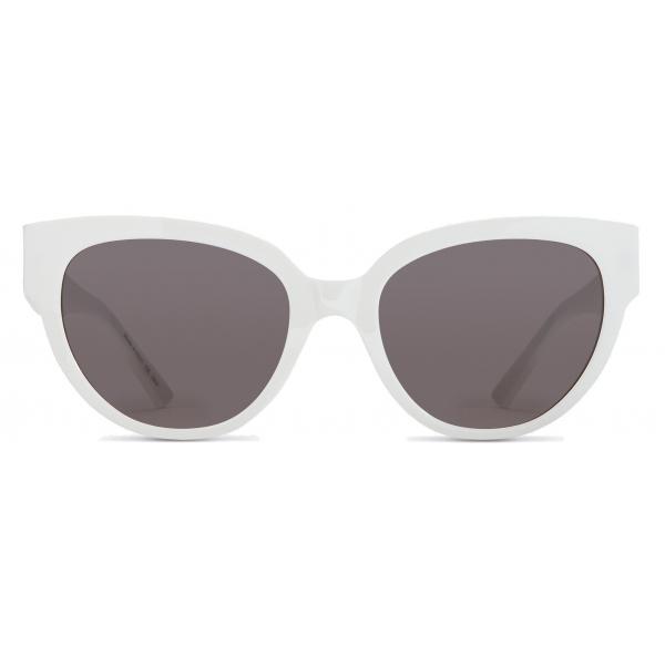 Balenciaga - Occhiali da Sole Flat-D Frame - Bianco - Occhiali da Sole - Balenciaga Eyewear