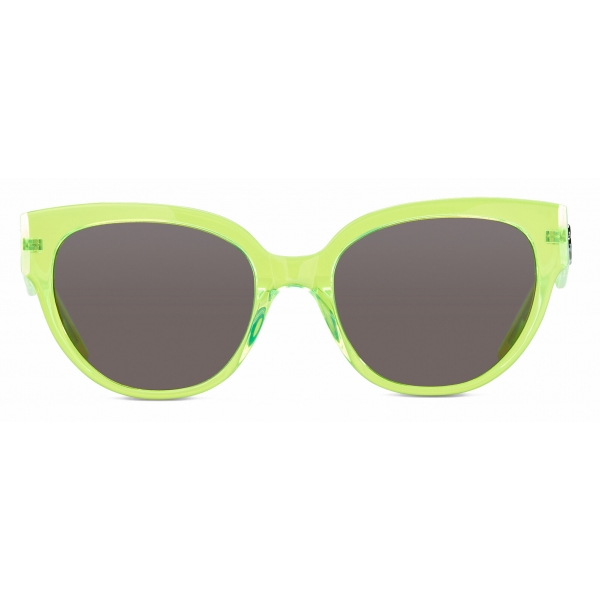 Balenciaga - Flat-D Frame Sunglasses - Yellow - Sunglasses - Balenciaga Eyewear