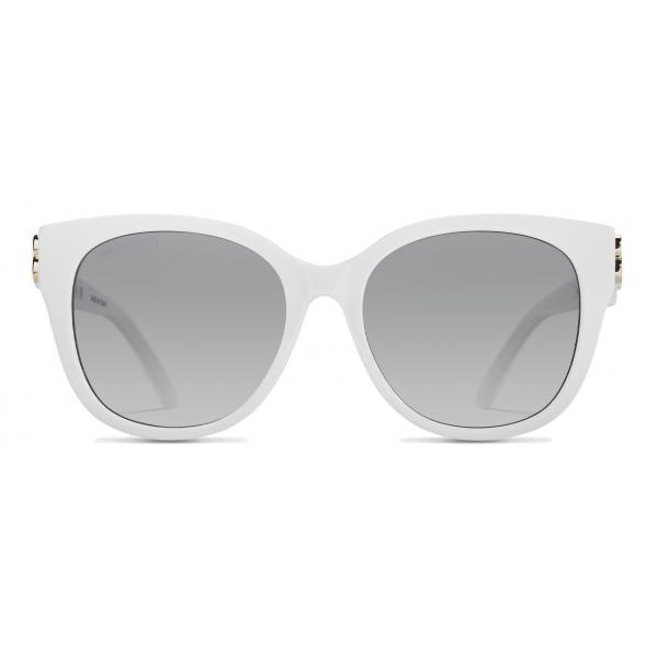 Balenciaga - Occhiali da Sole Dynasty Cat - Bianco - Occhiali da Sole - Balenciaga Eyewear