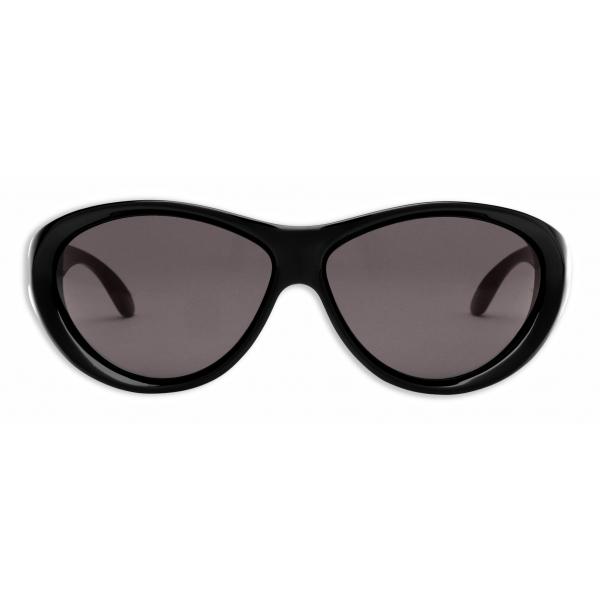 Balenciaga - Swift Round Sunglasses - Black - Sunglasses - Balenciaga Eyewear