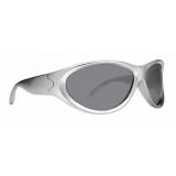 Balenciaga - Swift Round Sunglasses - Silver - Sunglasses - Balenciaga Eyewear