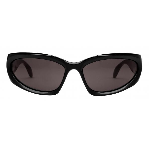 Balenciaga - Occhiali da Sole Swift Oval - Nero - Occhiali da Sole - Balenciaga Eyewear