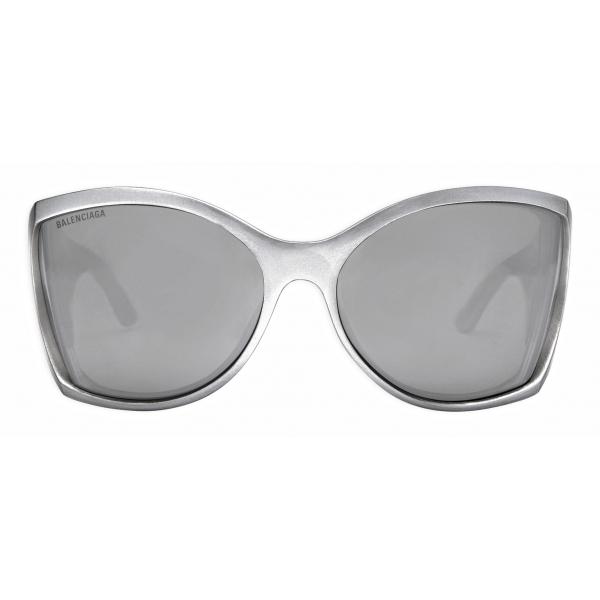 Balenciaga - Occhiali da Sole Void Butterfly - Argento - Occhiali da Sole - Balenciaga Eyewear
