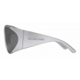 Balenciaga - Void Butterfly Sunglasses - Silver - Sunglasses - Balenciaga Eyewear