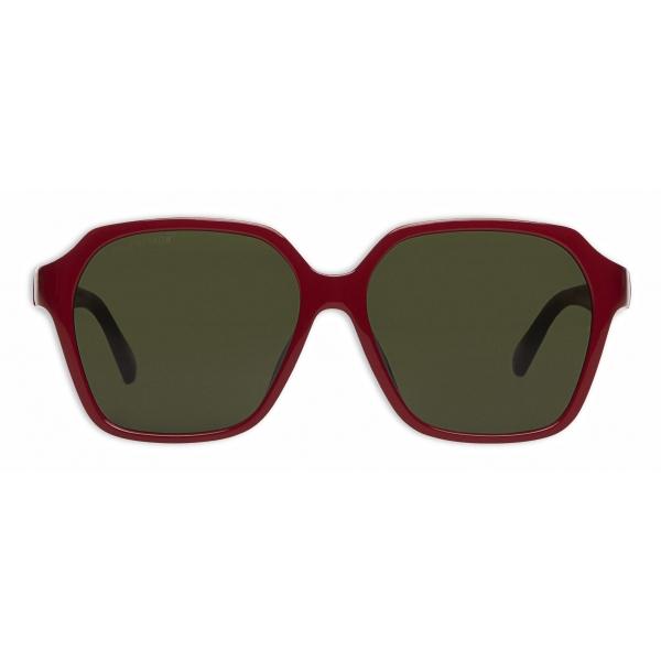 Balenciaga - Occhiali da Sole Side Square - Rosso - Occhiali da Sole - Balenciaga Eyewear