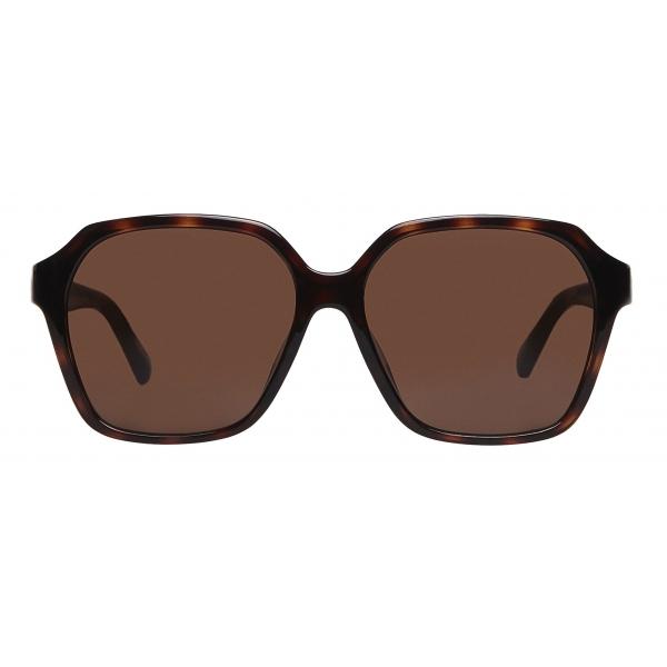 Balenciaga - Occhiali da Sole Side Square - Marrone - Occhiali da Sole - Balenciaga Eyewear