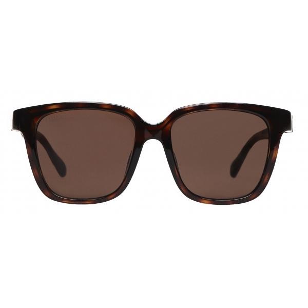 Balenciaga - Occhiali da Sole Side D-Frame - Marrone - Occhiali da Sole - Balenciaga Eyewear