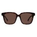 Balenciaga - Side D-Frame Sunglasses - Brown - Sunglasses - Balenciaga Eyewear