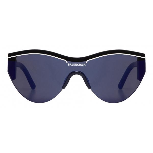 Balenciaga - Occhiali da Sole Ski Cat - Blu - Occhiali da Sole - Balenciaga Eyewear