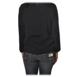 Dondup - Blouse with Rouches - Black - Top - Luxury Exclusive Collection