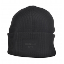 Dondup - Ribbed Hat with Logo - Black - Hats - Luxury Exclusive Collection