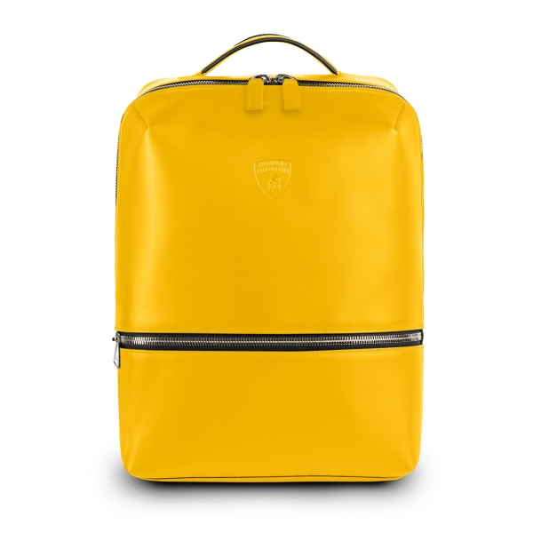 Automobili Lamborghini - Backpack - Yellow - Made in Italy - Luxury Exclusive Collection