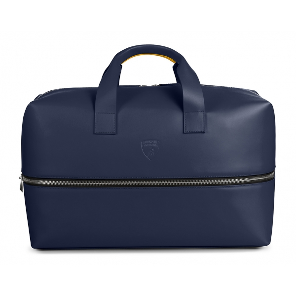 Automobili Lamborghini - Travel Bag - Blue - Made in Italy - Luxury Exclusive Collection