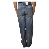 Dondup - Jeans Five Pockets Wide Leg - Blue Jeans - Trousers - Luxury Exclusive Collection