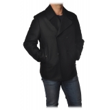 Dondup - Double Breasted Short Coat - Black - Jacket - Luxury Exclusive Collection