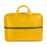 Automobili Lamborghini - Briefcase - Yellow - Made in Italy - Luxury Exclusive Collection