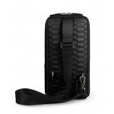 Automobili Lamborghini - Crossbody Bag - Black - Made in Italy - Luxury Exclusive Collection