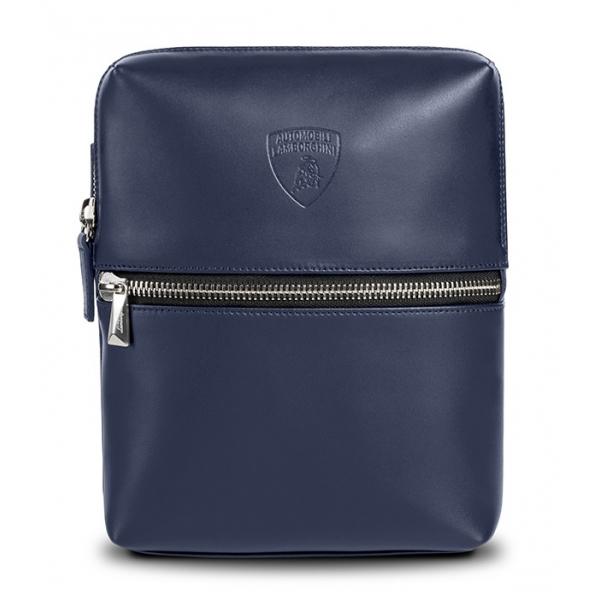 Automobili Lamborghini - Bodybag - Blu - Made in Italy - Luxury Exclusive Collection